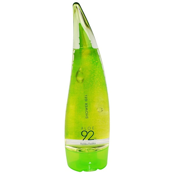 Shower Gel, Aloe 92%, 8.45 fl oz (250 ml)