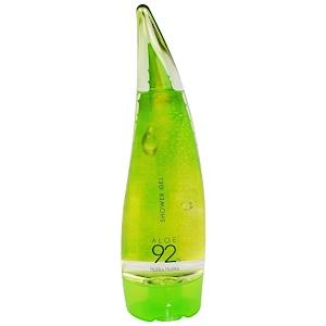 Холика Холика, Shower Gel, Aloe 92%, 8.45 fl oz (250 ml) отзывы покупателей