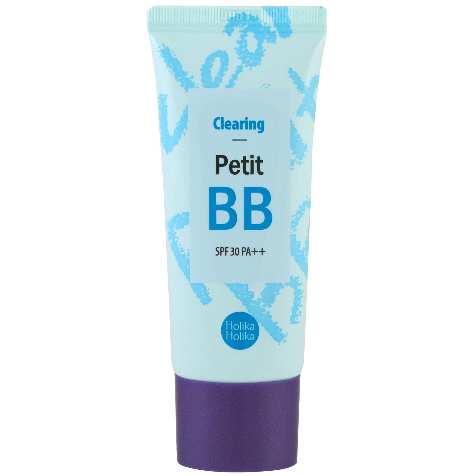 Holika Holika, Clearing Petit BB, SPF 30, 30 ml