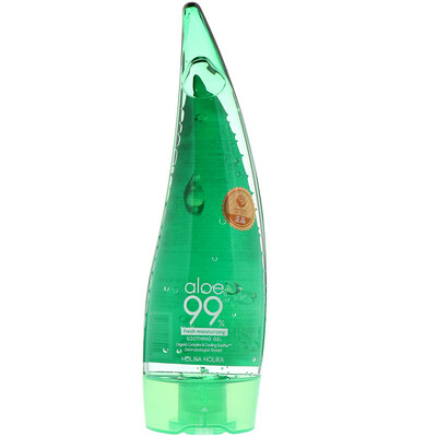 Купить Holika Holika Fresh Moisturizing Soothing Gel, Aloe 99%, 8.45 fl oz (250 ml)