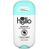 Hello, Deodorant with Activated Charcoal, Fresh + Clean , 2.6 oz (73 g)