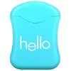 Hello, White Floss, Natural Peppermint Flavor, 54.6 yds (50 meters)
