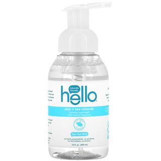 Hello, Foaming Hand Wash, Aloe + Sea Minerals, 10 fl oz (295 ml)