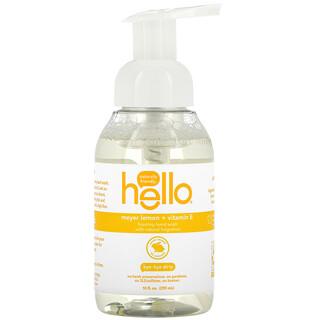 Hello, Foaming Hand Wash, Meyer Lemon + Vitamin E, 10 fl oz (295 ml)