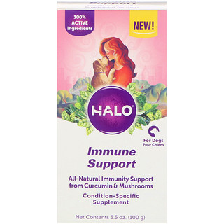 Halo, Immune Support, for Dogs, 3.5 oz (100 g)
