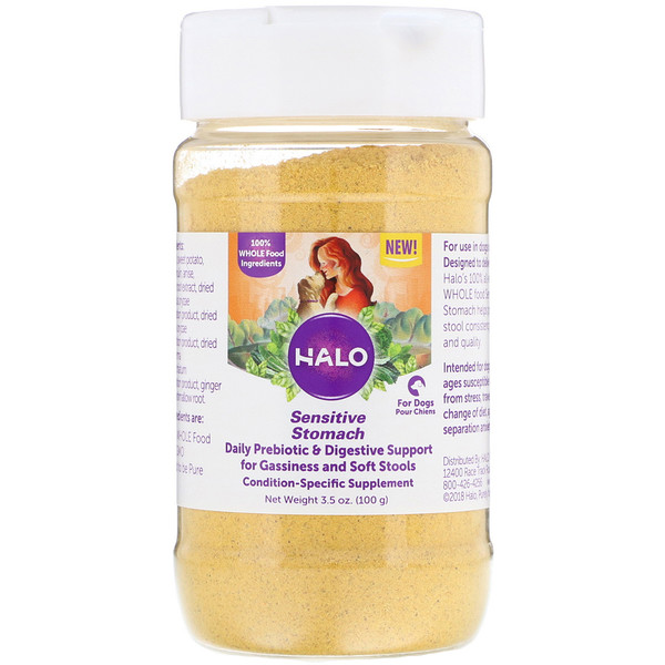 Halo, Sensitive Stomach, For Dogs, 3.5 oz (100 g)