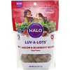Halo, Luv-A-Lots, Dog Treats, Beef, Bacon & Blueberry Recipe, 5 oz (141.7 g)