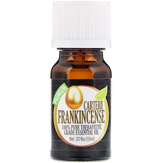 Healing Solutions, 100% Pure Therapeutic Grade Essential Oil, Carterii Frankincense, 0.33 fl oz (10 ml)