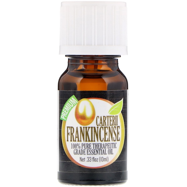 Healing Solutions, 100% Pure Therapeutic Grade Essential Oil, Carterii Frankincense, 0.33 fl oz (10 ml) (Discontinued Item)