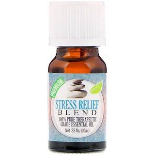 Healing Solutions, На 100% чистое эфирное масло терапевтического качества, смесь «снятие стресса», 10 мл