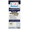 Homeolab USA, Kids Relief, Cough & Cold Syrup, Nighttime Formula, For Kids 0-12 Yrs, 3.4 fl oz (100 ml)