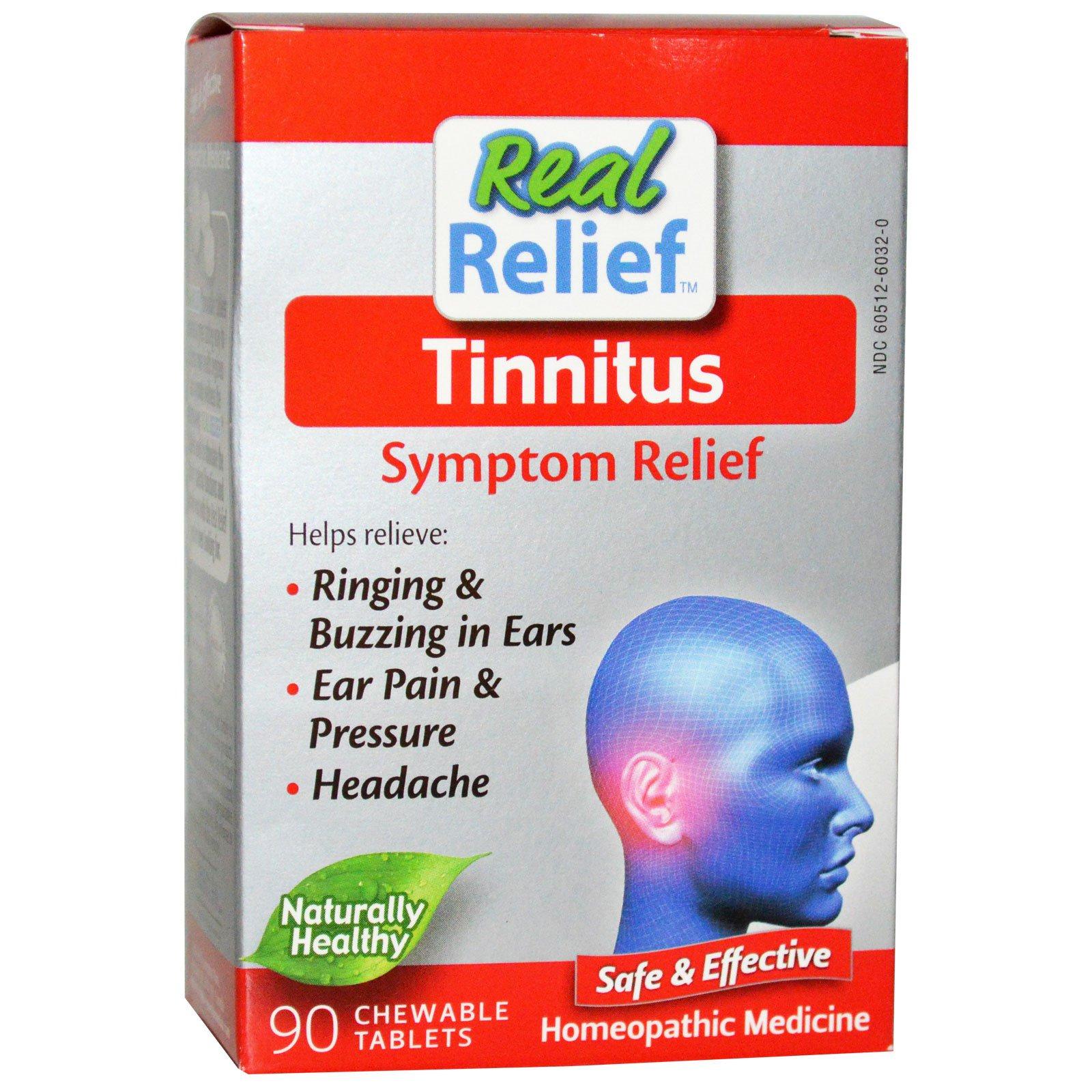 Homeolab USA, Tinnitus, Symptom Relief, 90 Chewable Tablets