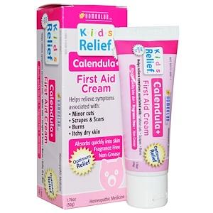 Хомеолаб ЮСА, Kids Relief, First Aid Cream, Calendula +, 1.76 oz (50 g) отзывы