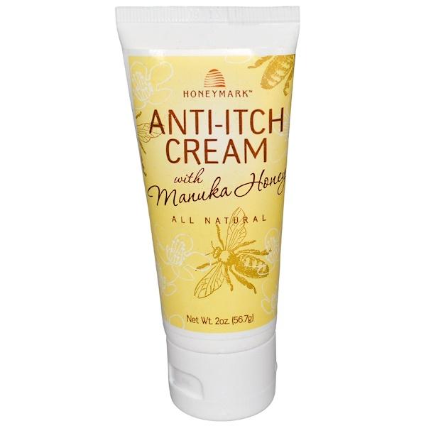 Honeymark, Anti-Itch Cream with Manuka Honey, 2 oz (56.7 g) (Discontinued Item)