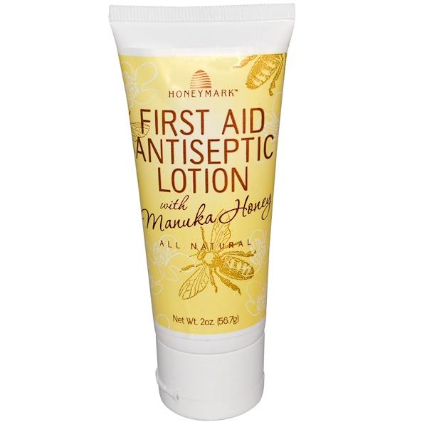 Honeymark, First Aid Antiseptic Lotion with Manuka Honey, 2 oz (56.7 g) (Discontinued Item)