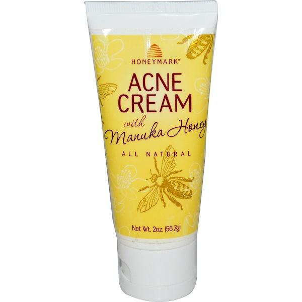 Honeymark, Acne Cream, with Manuka Honey, 2 oz (56.7 g) (Discontinued Item)