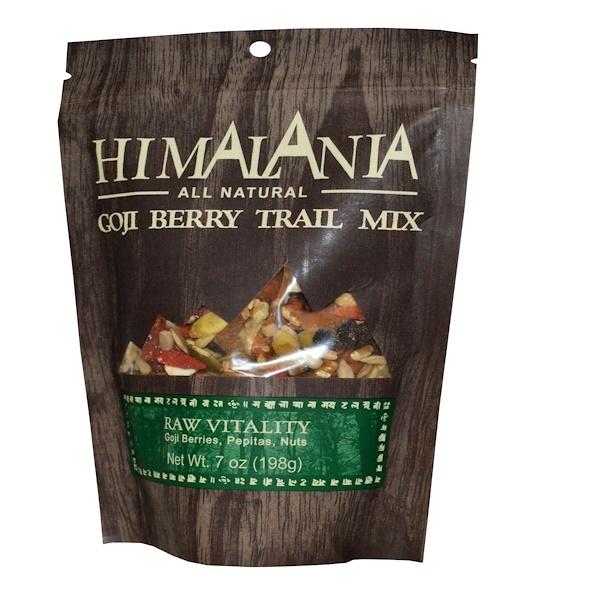 Himalania, Goji Berry Trail Mix, Raw Vitality, 7 oz (198 g) (Discontinued Item)