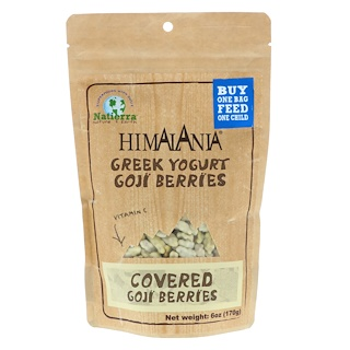 Himalania, Greek Yogurt Goji Berries, 6 oz (170 g)