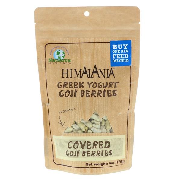 Himalania, Greek Yogurt Goji Berries, 6 oz (170 g)