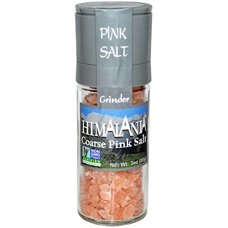 Himalania, Розовая соль грубого помола, с измельчителем, 3 унции (85 г)