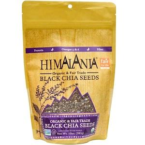 Хималания, Organic & Fair Trade Black Chia Seeds, 10 oz (283 g) отзывы