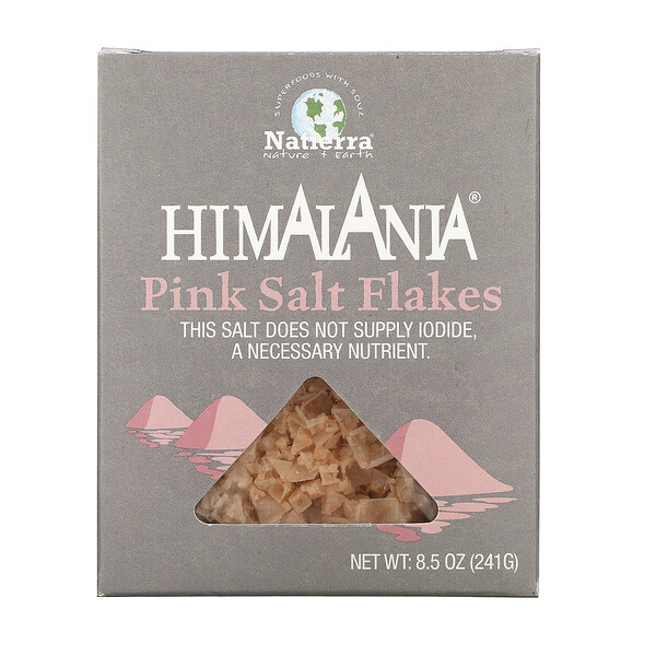 Natierra, Himalania, Pink Salt Flakes, 8.5 oz (241 g)