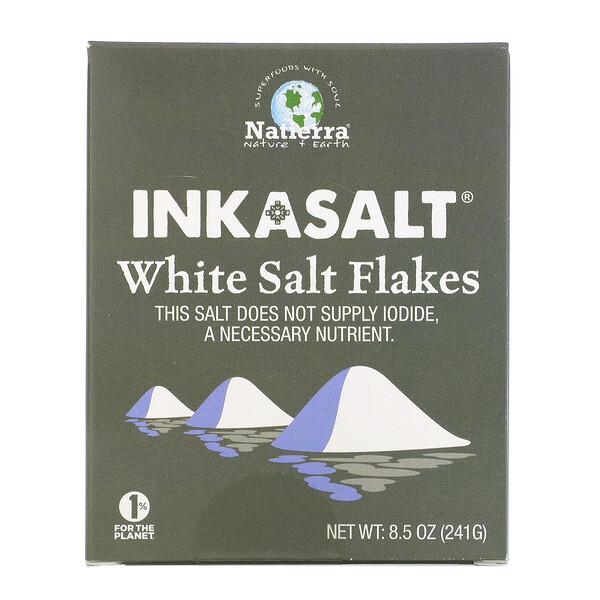 Inkasalt, White Salt Flakes, 8.5 oz (241 g)