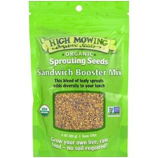 High Mowing Organic Seeds, Mezcla reforzadora para sándwich, 3 oz (89 g)