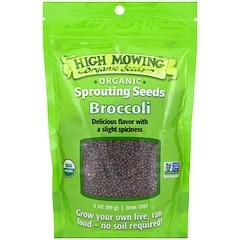 High Mowing Organic Seeds, Broccoli, 3 oz (89 g)