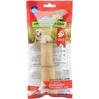 Himalayan Pet Supply, Himalayan Dog Chew, Hard, For Dogs 55 lbs & Under, Cheese, 3.3 oz (93 g)