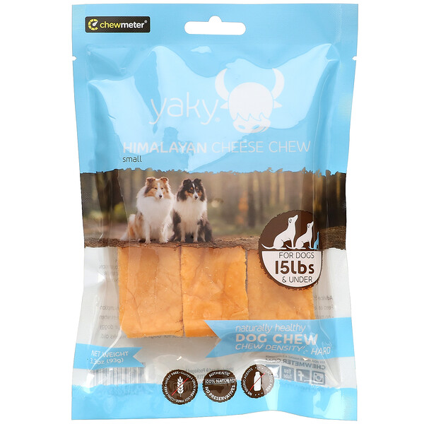 Himalayan Pet Supply, Yaky, Himalayan Cheese Chew, Small, 3.3 oz (93 g)