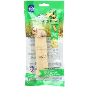 Himalayan Pet Supply, Himalayan Dog Chew, Hard, For Dogs 35 lbs & Under, Peanut Butter, 2.3 oz (65 g)