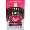Hana Beverages, Beet Latte, Non-Coffee Superfood Beverage, 16 oz (454 g)