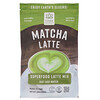 Hana Beverages, Latte matcha, boisson superfood sans café, 454 g