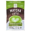 Hana Beverages, Latte matcha, boisson superfood sans café, 454g
