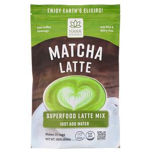 Hana Beverages, Matcha Latte, Non-Coffee Superfood Beverage, 16 oz (454 g) отзывы