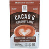 Hana Beverages, Cacao & Coconut Latte, Non-Coffee Superfood Beverage, 16 oz (454 g)