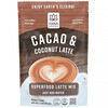 Hana Beverages, Cacao & Coconut Latte, Non-Coffee Superfood Beverage, 3.3 oz (93.6 g)