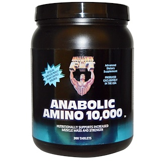 Healthy N Fit, Anabolic Amino 10,000, 360 Tablets