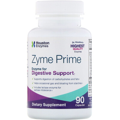 Houston Enzymes Zyme Prime, 90 Capsules