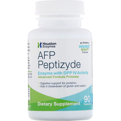 Houston Enzymes AFP Peptizyde, 90 капсул