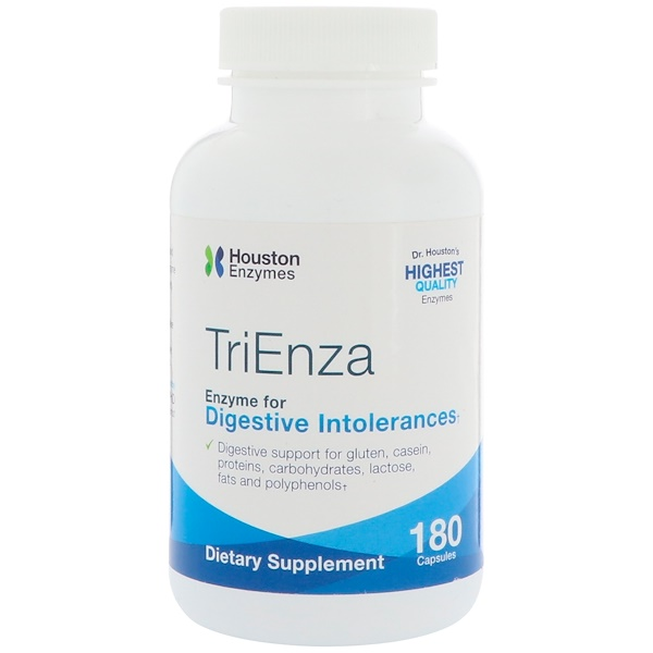 Houston Enzymes, TriEnza,180 粒膠囊