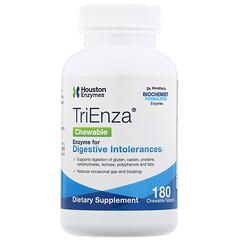 Houston Enzymes, TriEnza Chewable,180粒咀嚼片