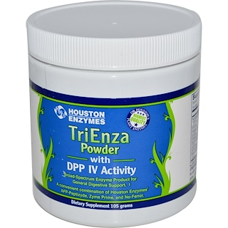 Houston Enzymes, TriEnza Powder with DPP IV Activity, 105 g