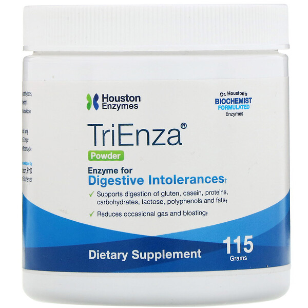 Houston Enzymes, TriEnza 全酶粉,115 克