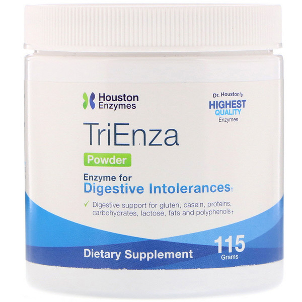 Houston Enzymes, Polvo TriEnza, 115 g