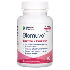 Houston Enzymes, Biomuve 酶 + 益生菌膠囊,90 粒裝