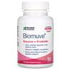 Houston Enzymes, Biomuve(バイオムーブ)、酵素&プロバイオティクス※、90粒 ※生きたまま腸に到達できる菌株のこと