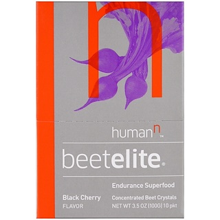 HumanN, Beetelite, Black Cherry Flavor , 10 Packets, 3.5 oz (100 g)