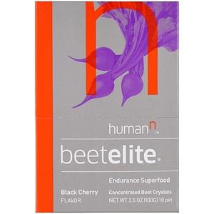 Хьюман Н, Beetelite, Black Cherry Flavor , 10 Packets, 3.5 oz (100 g) отзывы